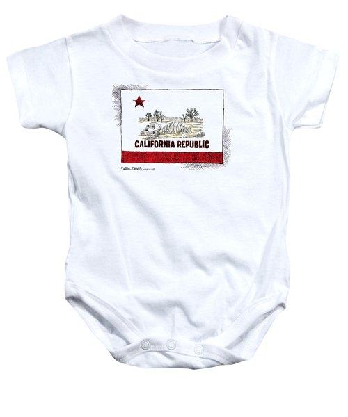 California Drought Baby Onesie