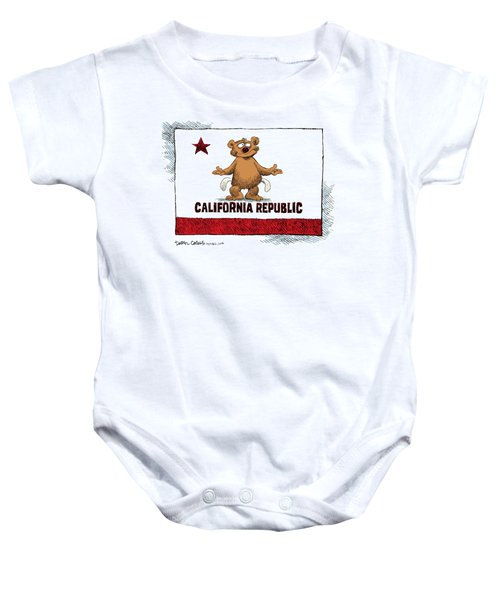 California Empty Pockets Baby Onesie