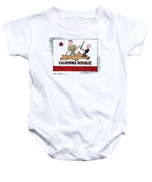 California Governor Handoff Baby Onesie