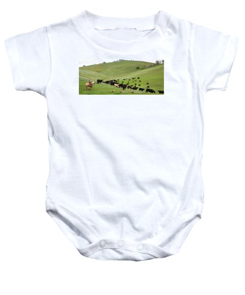 California Ranching Baby Onesie