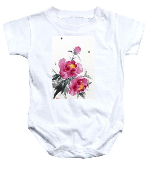 Camellia / Tsubaki Baby Onesie