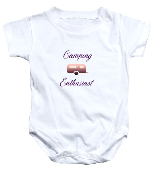 Camping Enthusiast Baby Onesie