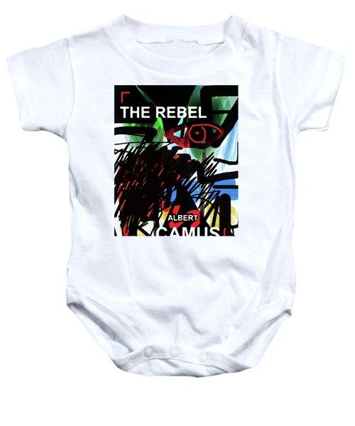 Camus The Rebel  Poster Baby Onesie