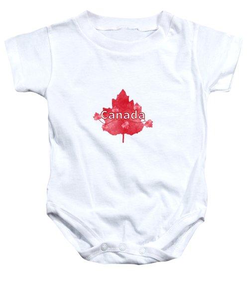 Canada Proud Baby Onesie