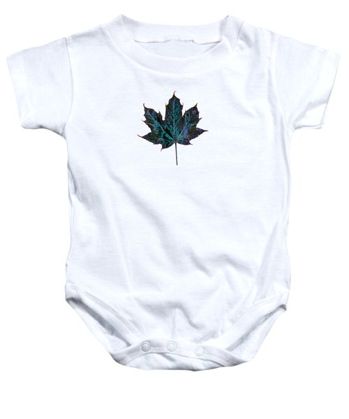 Canadian Diversity Maple Leaf Baby Onesie