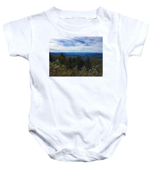 Caney Fork Overlook Baby Onesie
