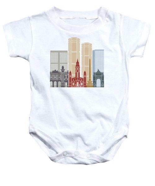 Caracas V2 Skyline Poster Baby Onesie