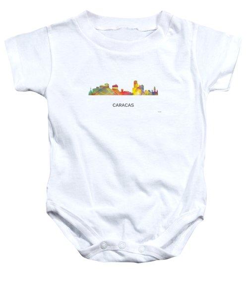 Caracas Venezuela Skyline Baby Onesie