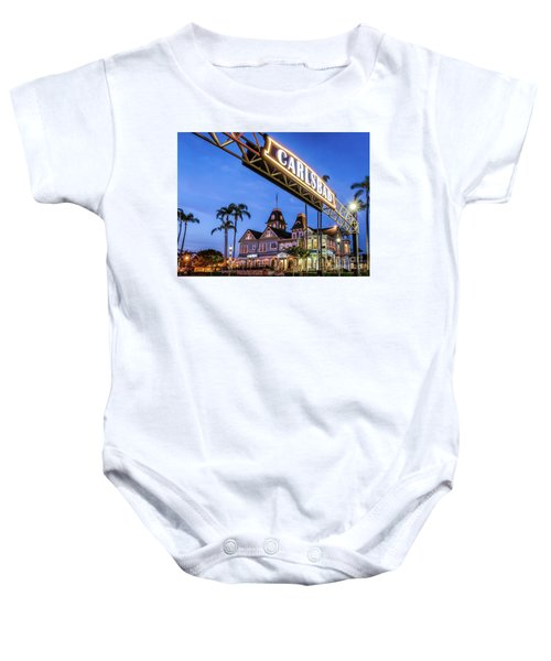 Carlsbad Welcome Sign Baby Onesie