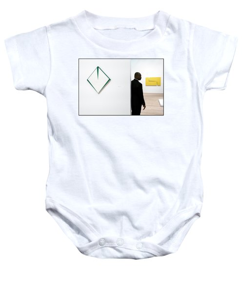 Carmen Herrera At The Whitney 1 Baby Onesie