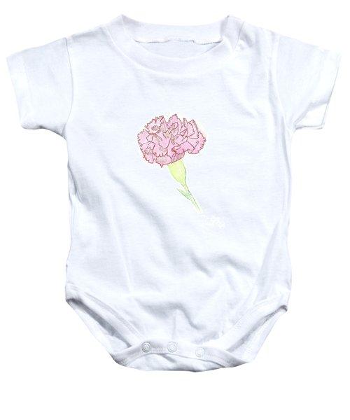 Carnation Baby Onesie