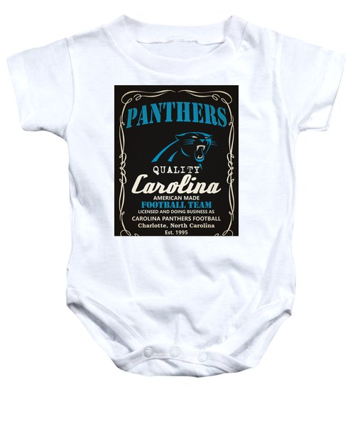 Carolina Panthers Whiskey Baby Onesie 7cd3f06ac