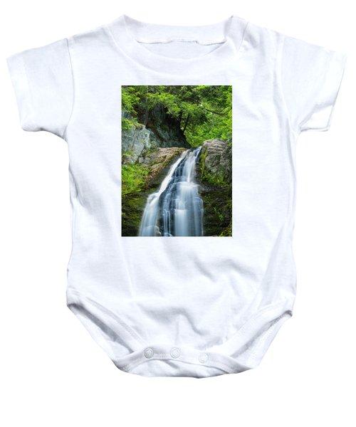 Cascade Falls In South Portland In Maine Baby Onesie
