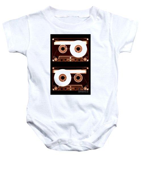 Cassette Tapes Baby Onesie