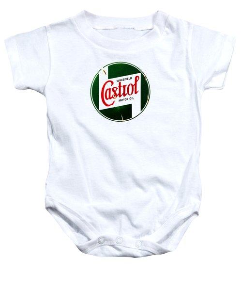 Castrol Motor Oil Baby Onesie