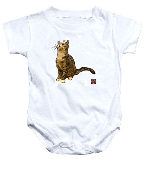 Cat Art - 3771 Wb Baby Onesie