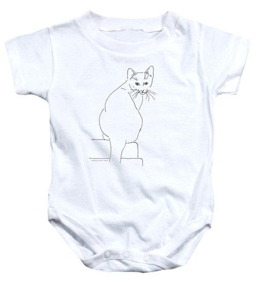 Cat-artwork-prints Baby Onesie