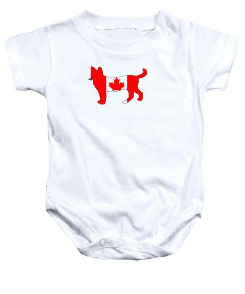 Cat Canada Baby Onesie