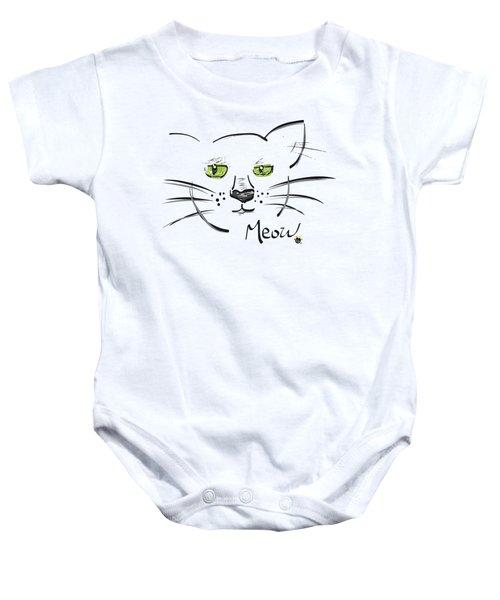Cat Meow Baby Onesie