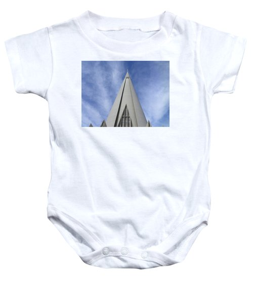 Cathedral Minor Basilica Our Lady Of Glory Baby Onesie