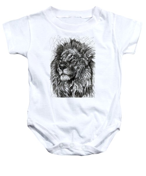 Cecil The Lion Baby Onesie by Michael Volpicelli