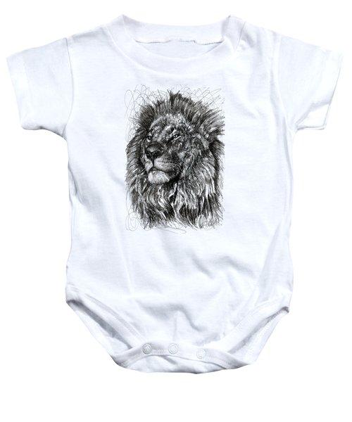 Cecil The Lion Baby Onesie
