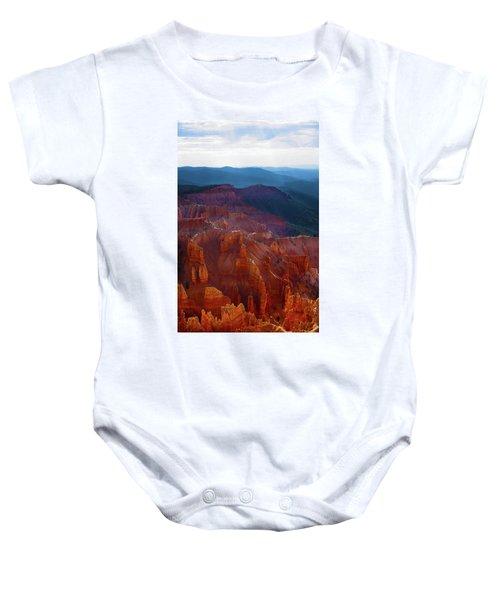 Cedar Breaks Brilliance Baby Onesie