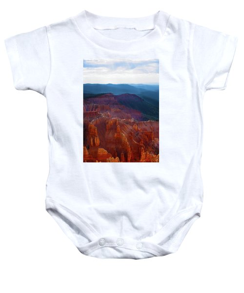 Cedar Breaks Brilliance Baby Onesie