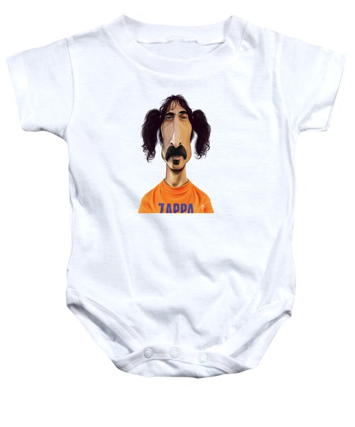 Celebrity Sunday - Frank Zappa Baby Onesie
