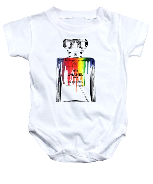 Chanel  Baby Onesie by Mark Ashkenazi