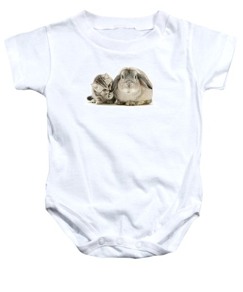 Checking For Grey Hares Baby Onesie