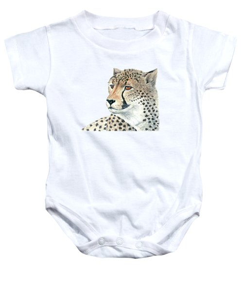 Cheetah Baby Onesie