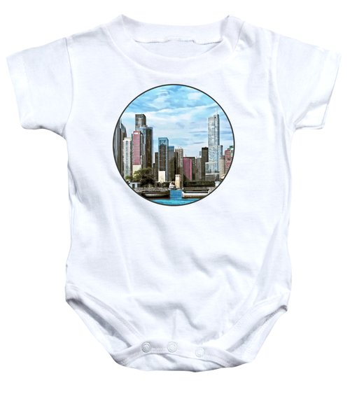 Chicago Il - Chicago Harbor Lock Baby Onesie