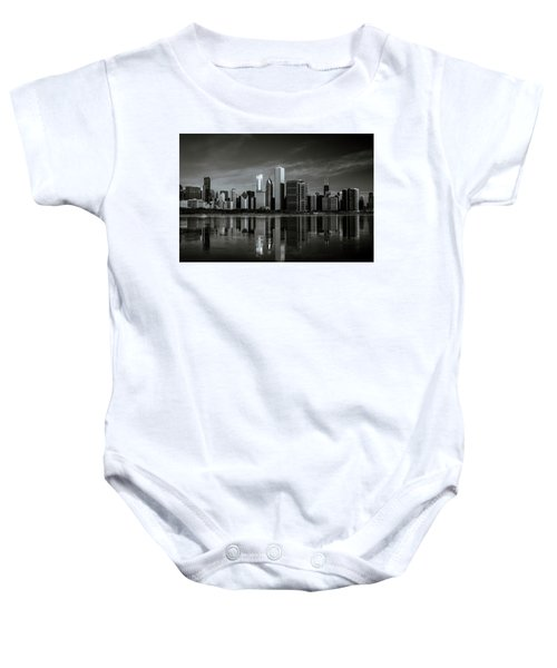 Chicago Lake Front Baby Onesie