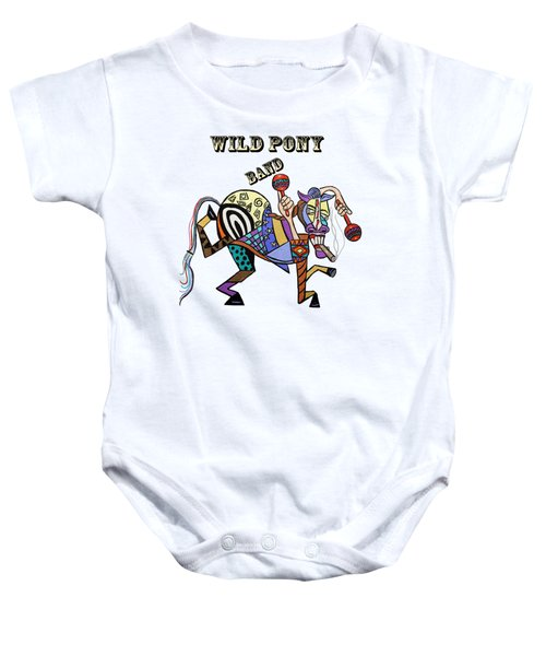 Chilli Peppers Wild Pony Baby Onesie