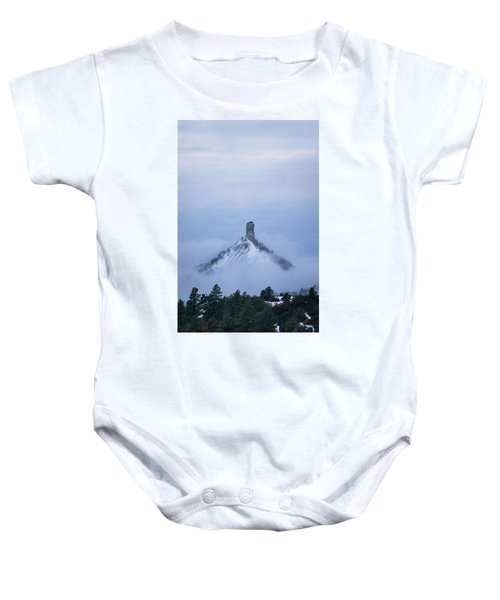 Chimney Rock Rising Baby Onesie