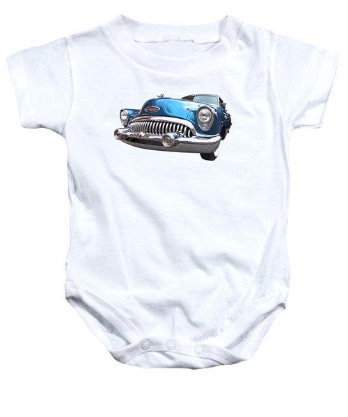Chrome Heaven - Buick Riviera 1953 Baby Onesie