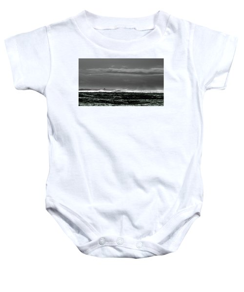 Church By The Sea Baby Onesie