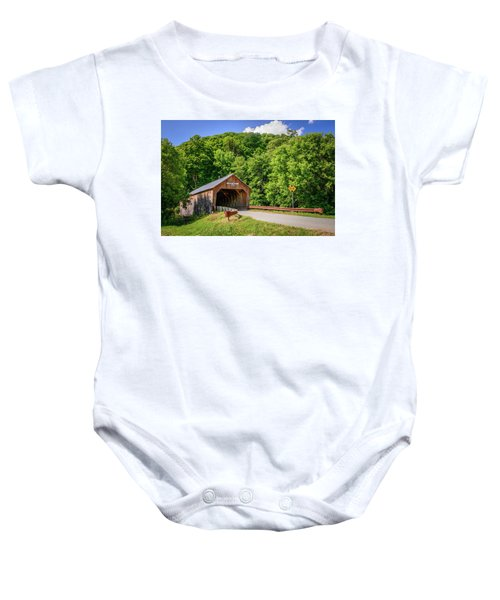 Cilley Bridge Baby Onesie