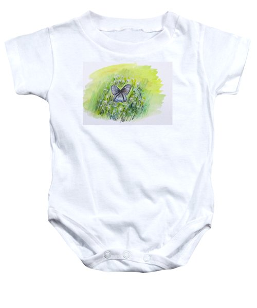 Cindy's Butterfly Baby Onesie