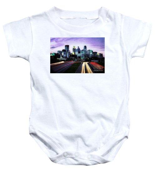 City Moves Baby Onesie