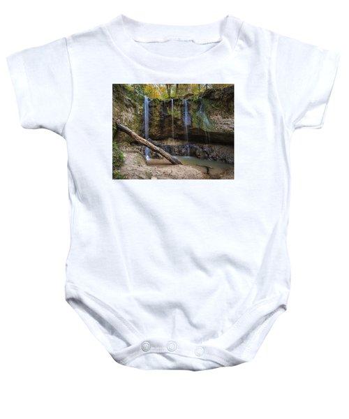 Clark Creek Waterfall No. 1 Baby Onesie