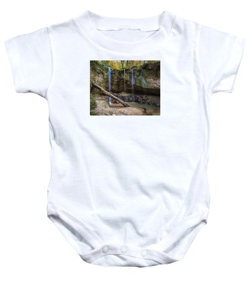 Clark Creek Waterfall No. 1 Baby Onesie