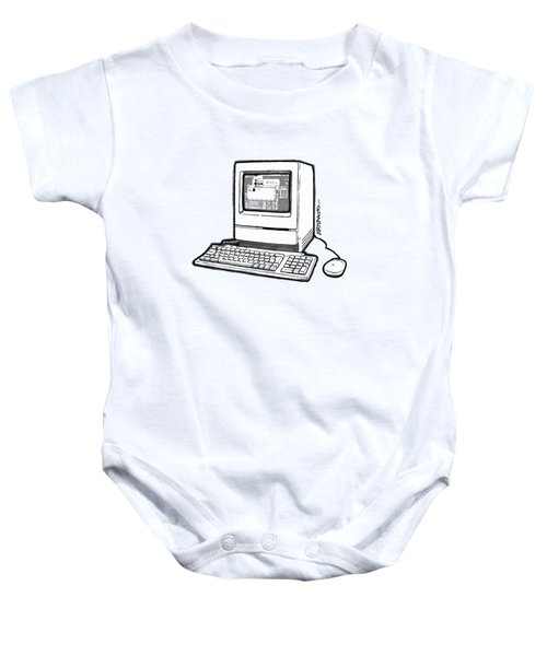 Classic Fruit Box Baby Onesie by Monkey Crisis On Mars