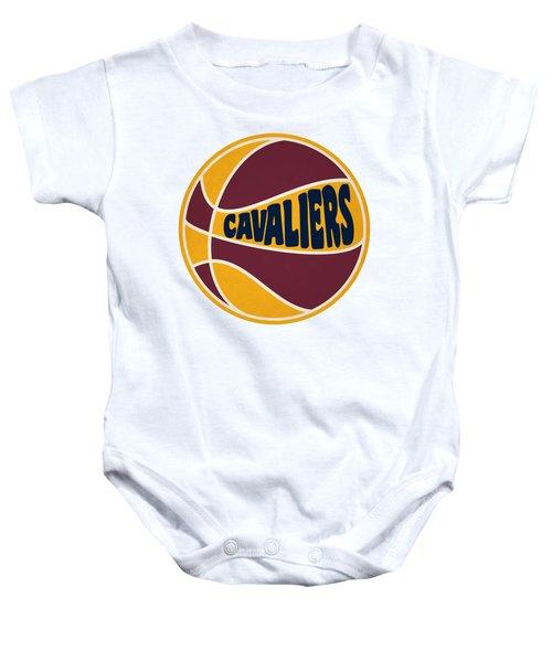 Cleveland Cavaliers Retro Shirt Baby Onesie
