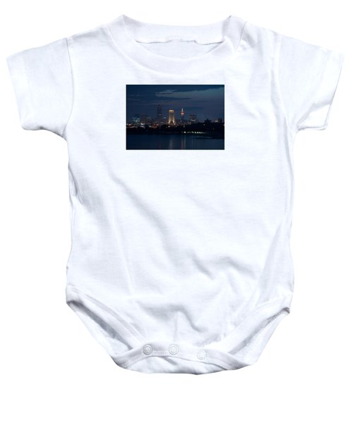 Cleveland Reflections Baby Onesie