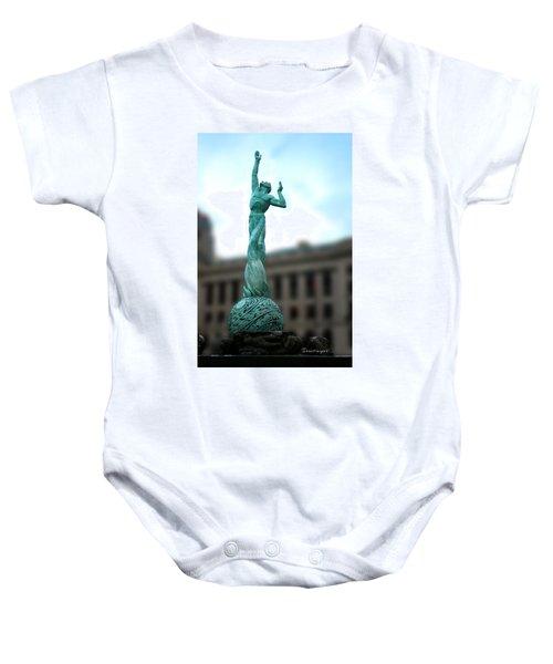 Cleveland War Memorial Fountain Baby Onesie
