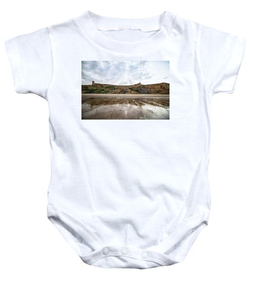 Cliff Reflections Baby Onesie