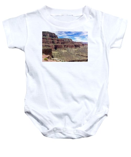 Cliffs In The Grand Canyon Baby Onesie