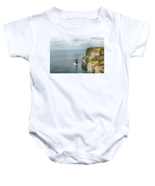 Cliffs Of Moher 3 Baby Onesie